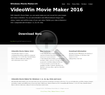 Win Movie Maker Full Version preview. Click for more details