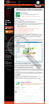 DPhoto Recovery Professional License preview. Click for more details